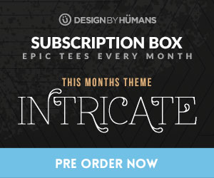 Sign up for a monthly DBH subscription box and get 2 limited edition curated tees for $35.98, or save $4.98 with a 3 month deal for $34.32 per box. Price includes shipping.