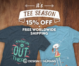 Save 15% off sitewide with coupon code: TEESEASON. Plus free shipping on apparel.