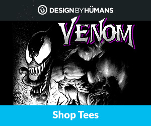 Shop 'Venom' apparel at DesignByHumans.com.
