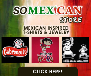 So Mexican Store - Everything Mexican Inspired - T-Shirts, Jewelry, Gifts - Shop Online