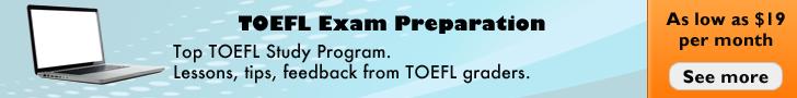 TOEFL Exam Preparation