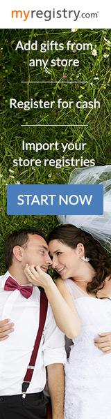 Create a wedding registry at MyRegistry.com!