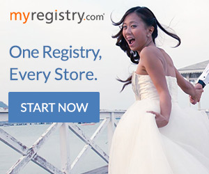 Create a wedding registry at MyRegistry.com!