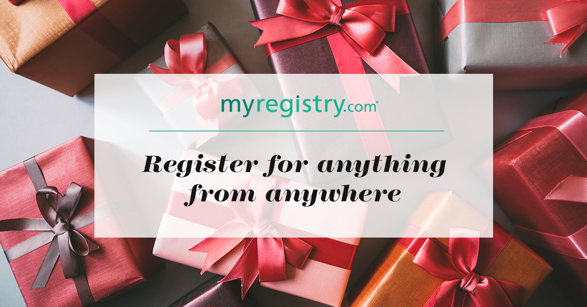 Create your wedding gift registry online