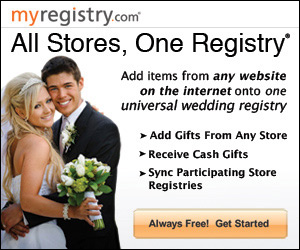 Add items from any website on the internet onto one universal gift registry
