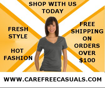 Look great with hot styles from CarefreeCasuals.com
