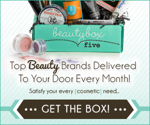 Beauty Box 5 Monthly Subscription Service