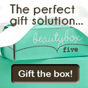 The Perfect Gift - Send top brand beauty samples every month with Beauty Box 5 - Click here!