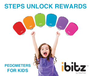 ibitz by GeoPalz steps unlock rewards