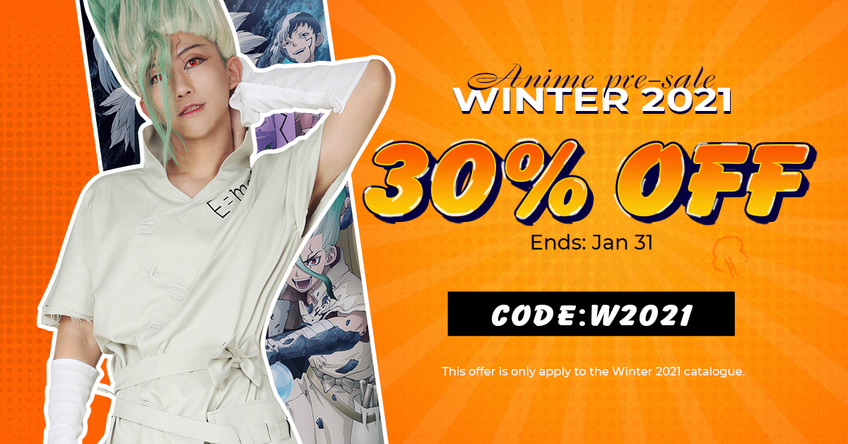 30% off for winter 2021