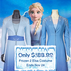Flash Sale for Frozen 2 Elsa Costume: Only $188.9
