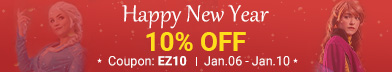 10% OFF for New Year Sale