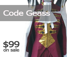 Code Geass Cosplay Costumes