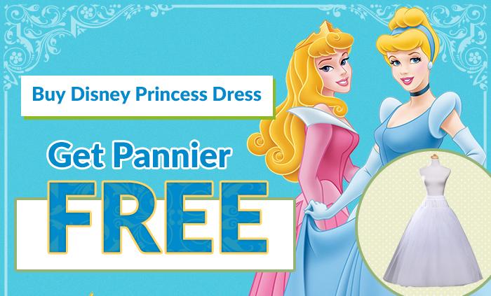 Buy Disney Princess Dress Get Pannier Free