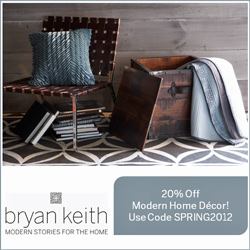 Save 20% on Modern Home Furnishings!