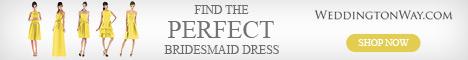 Find the perfect bridesmaid dress on Weddington Way!
