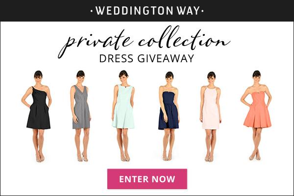 Weddington Way Dress Giveaway