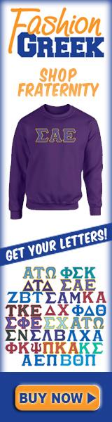 Get fraternity merchandise at Fashiongreek.com
