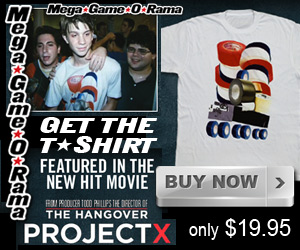 Featured in the new hit movie from producer Todd Phillips, director of The Hangover, Project X