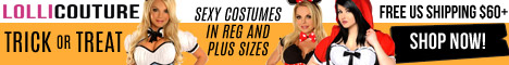 Halloween Costumes at LolliCouture.com!