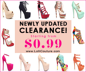 Newly  Updated Clearance Starting From $0.99 at LolliCouture.com