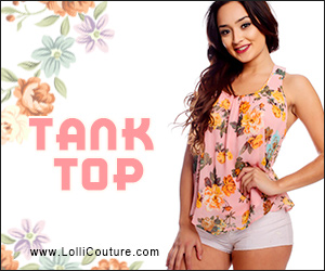 New Arrival Tanks at LolliCouture.com