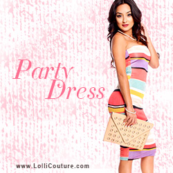Party Dresses at LolliCouture.com