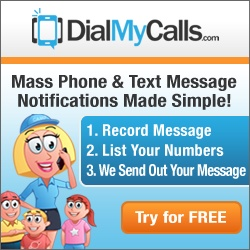 Mass Notification - DialMyCalls.com - Mass Phone and Text Messaging Service