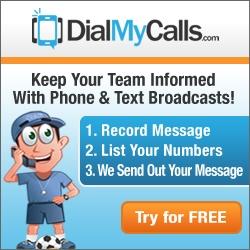Sports Team Calling - DialMyCalls.com