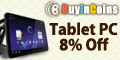 Tablet PC 8% Off