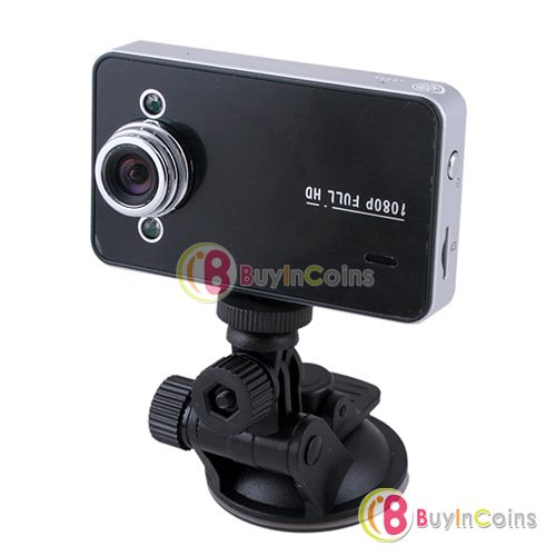 "2.7"" 1080P Car DVR HD Video Camera Recorder G-sensor HDMI Motion K6000L"