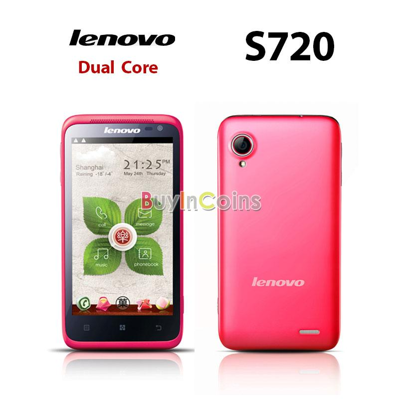 4.5 inch Lenovo LePhone S720 MTK6577 Dual Core 1GHz Android 4.0 Dual SIM 3G Smartphone Dual Camera Unlocked