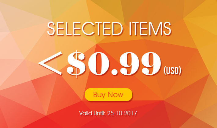 Selected Items! No more than $0.99! Time is Limited! Buy now!