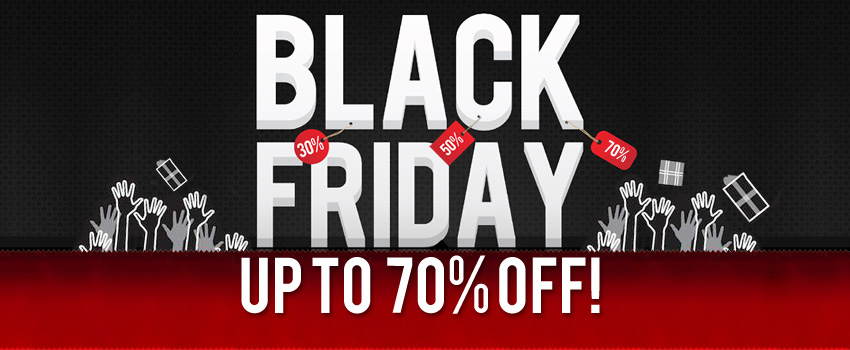 Black Friday – Extraordinary Discounts Waiting For You!