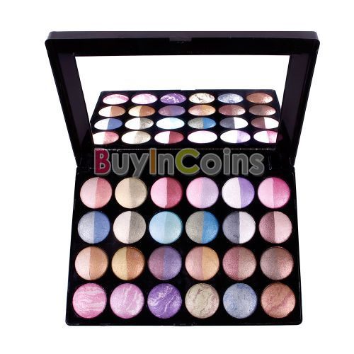 24 Color Eyeshadow Baked Ultra Shimmer Makeup Palette Eye Shadow Set