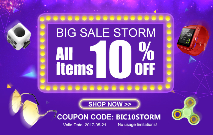 Summer Sale Storm -- 10% Off