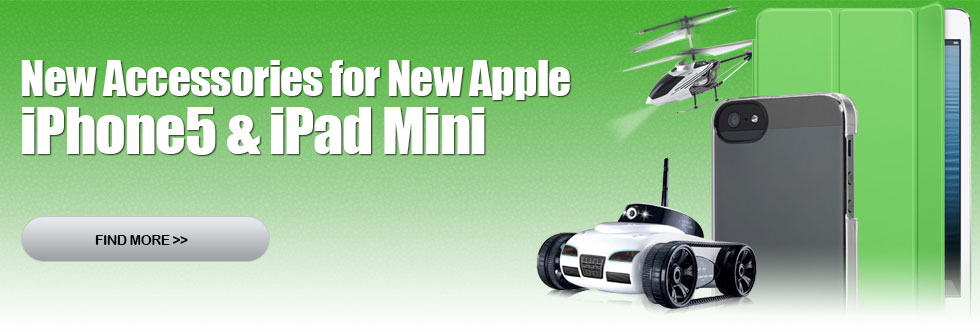 New Accessories for New Apple iPhone 5, iPad Mini