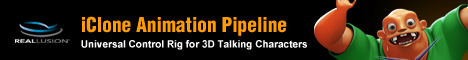 iClone 5.5 pipeline - Universal Control Rig for 3D Talking Characters