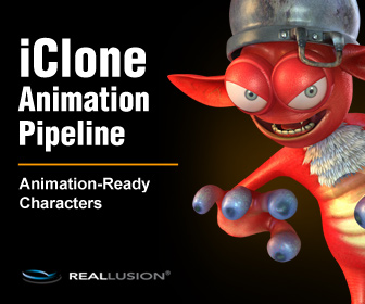 iClone 5.5 pipeline - Animation-Ready Characters