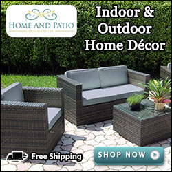 Find Amazing Indoor/Outdoor Home Décor at HomeAndPatioDecorCenter.com!
