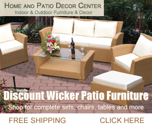 It Is Peaceful When Your House Extends Into Your Gardens With A Patio As An  Interloper. If You Need Some Great Patio Furniture Or Supplies Click On The  Ads ...