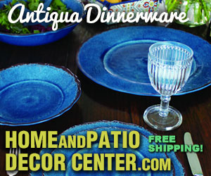 Discounted Patio Dinnerware with Free Shipping