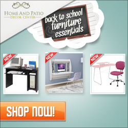 Back to School Furniture Essentials at HomeAndPatioDecorCenter.com!