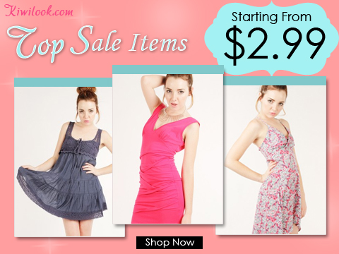 Daily Updated Clearance From $2.99! by Kiwi Look Inc