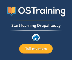 Drupal Training from OSTraining