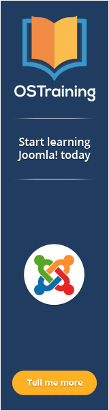 Joomla Training from OSTraining
