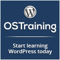 WordPress Training from OSTraining