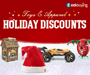 Toys & Apparel Holiday Discounts