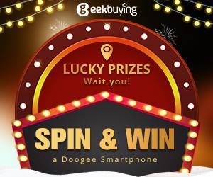 Geekbuying Doogee Xmas Sale(Win DOOGEE S60/DOOGEE S70)