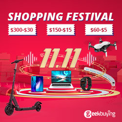 Geekbuying 11.11 Sale - Check in to share $11,000,000 coupons